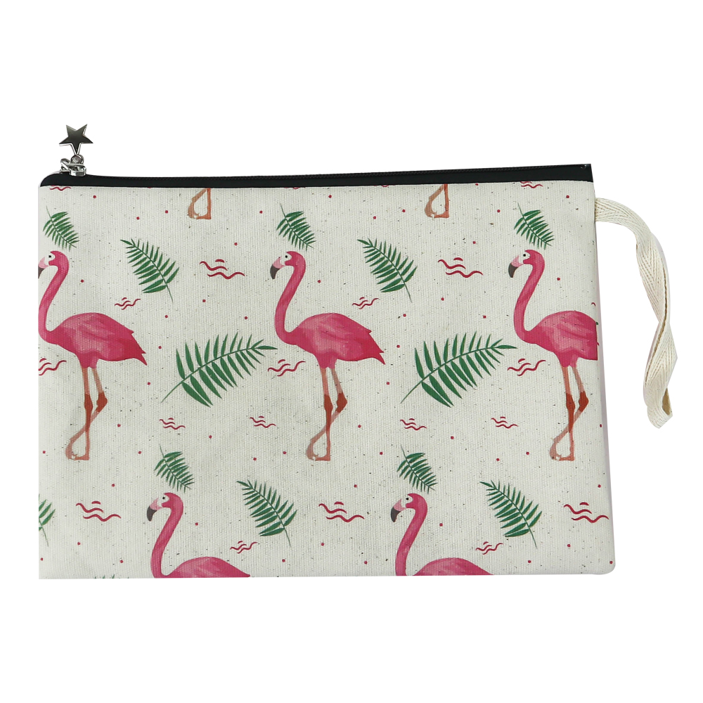 Flamingo Desenli Clutch