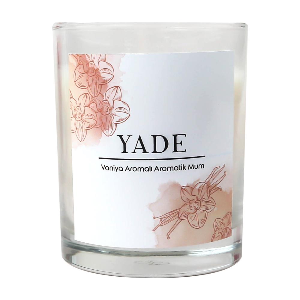 Yade Vanilya Kokulu Aromatik Mum
