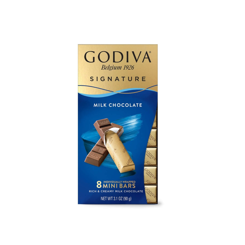 Godiva Milk Chocolate - Mini Bars