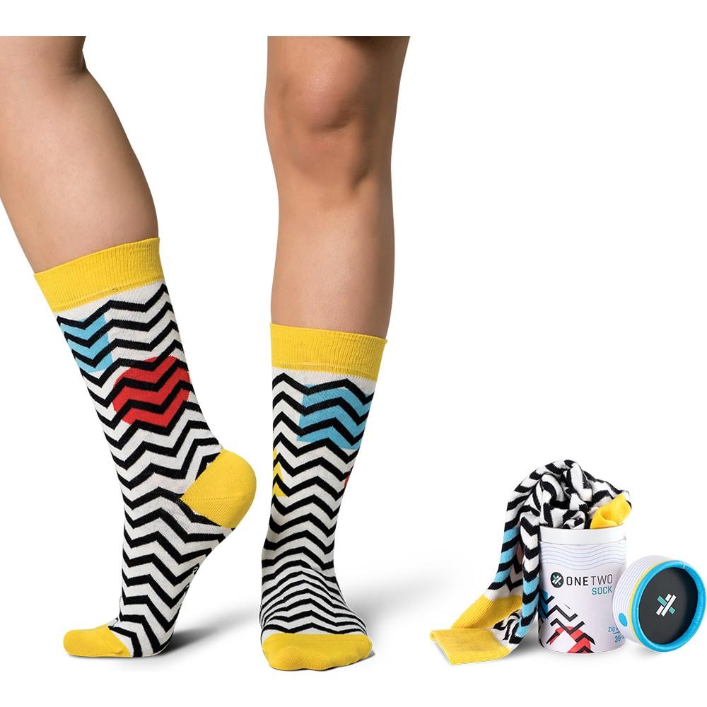 One Two Sock - Zig Zag