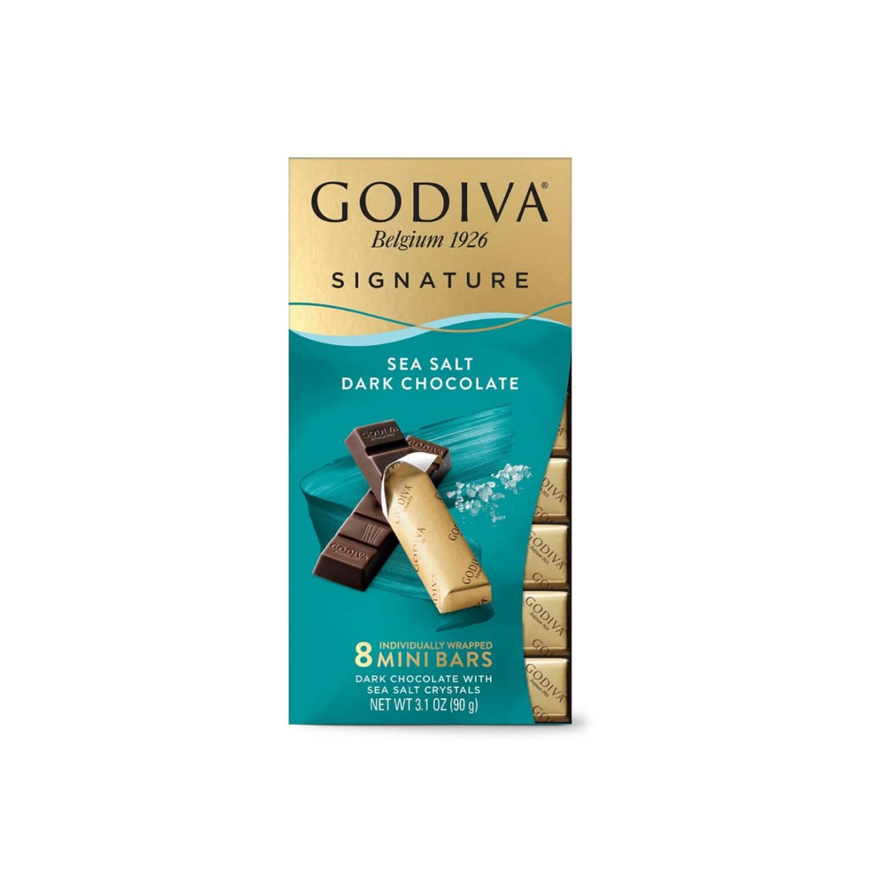 Godiva Sea Salt Dark Chocolate - Mini Bars