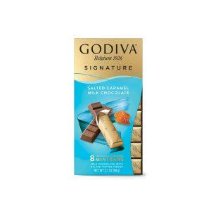 Godiva Salted Caramel Milk Chocolate - Mini Bars