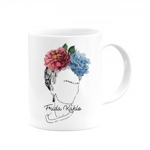 Frida Kahlo Tasarımlı Kupa