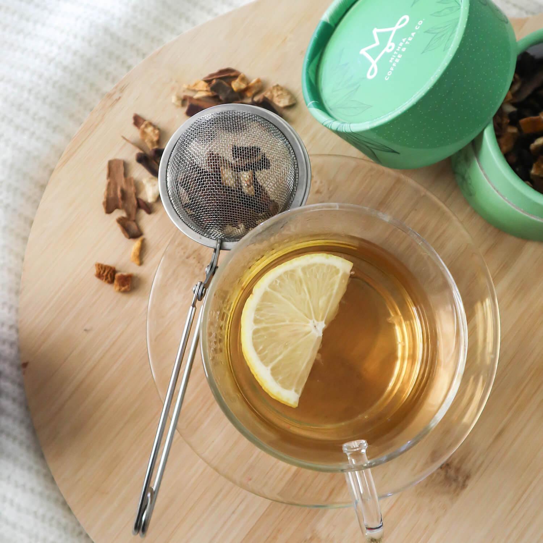 kış çayı limon