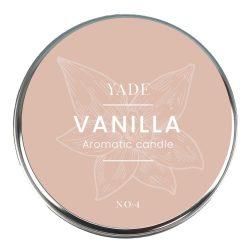 Yade Vanilya Aromaterapi Mum – No:2