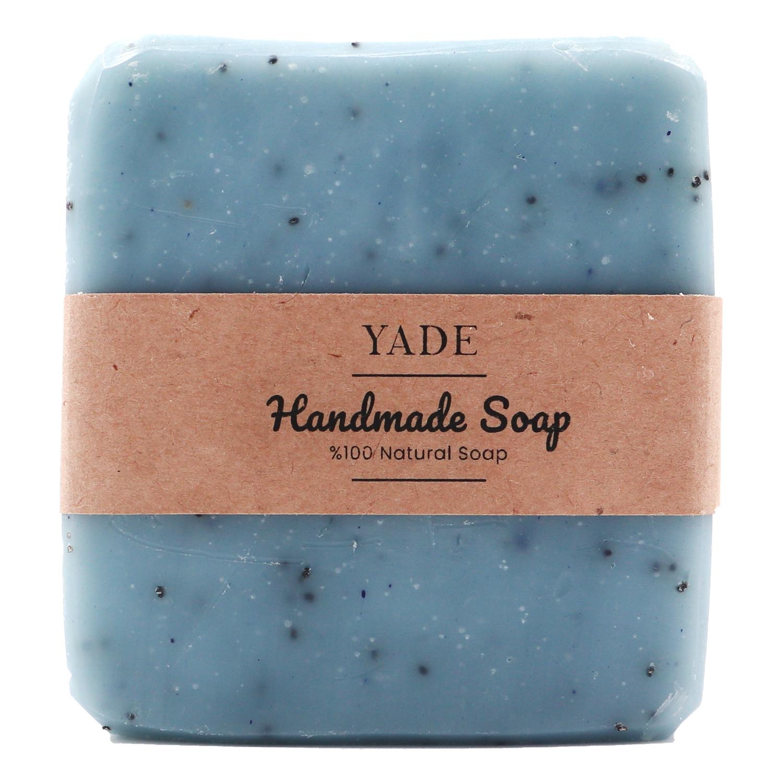 Yade Mavi Haşhaş & Vanilya El Yapımı Sabun