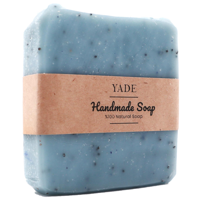 Yade Mavi Haşhaş & Vanilya El Yapımı Sabun-2