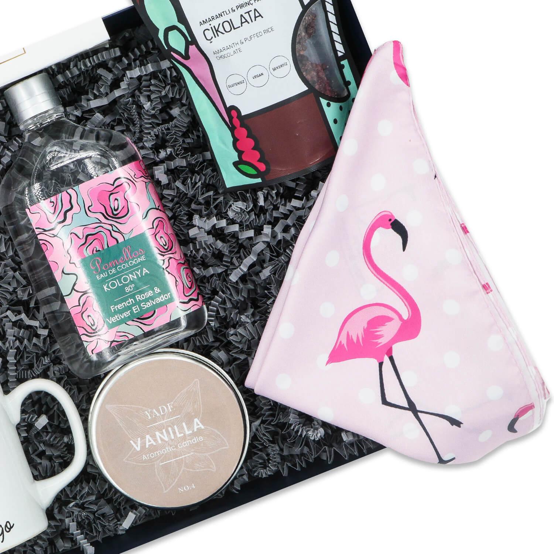 Flamingo Mutluluk Kutusu-detay