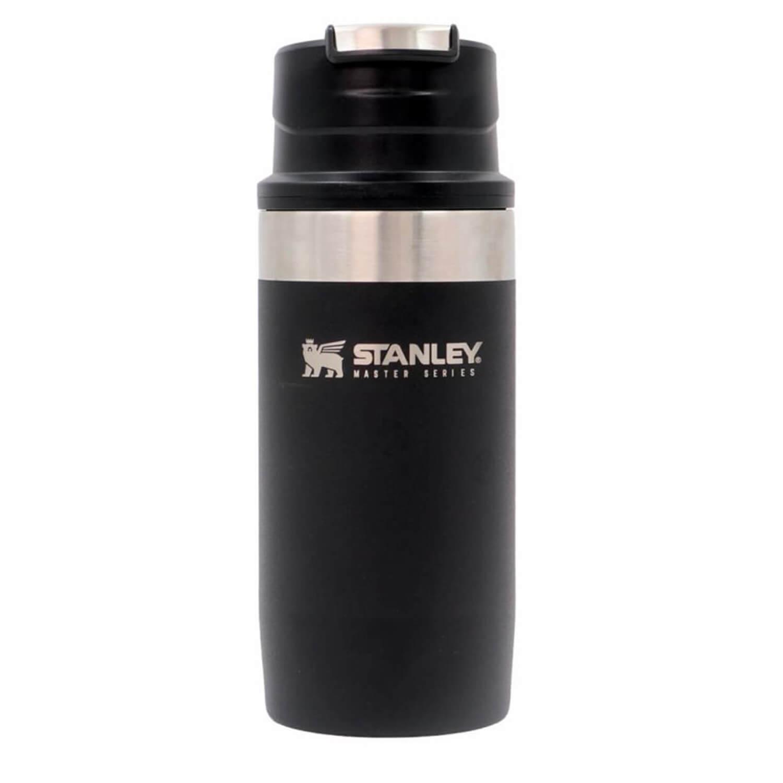 Stanley The Unbreakable Trigger-Action Seyahat Bardağı - Foundry Black - 0.35 L