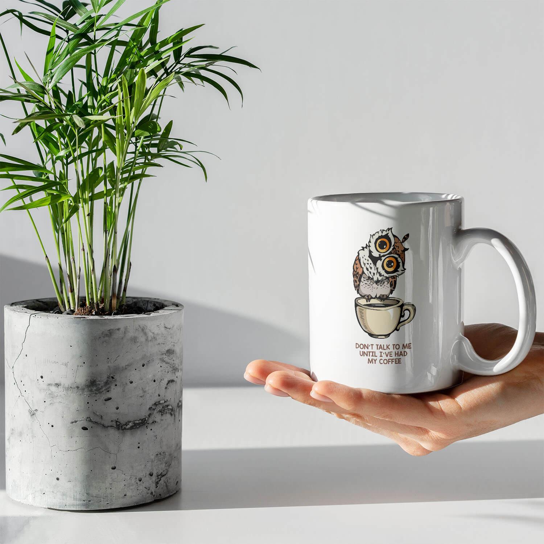 baykuş ve kahve