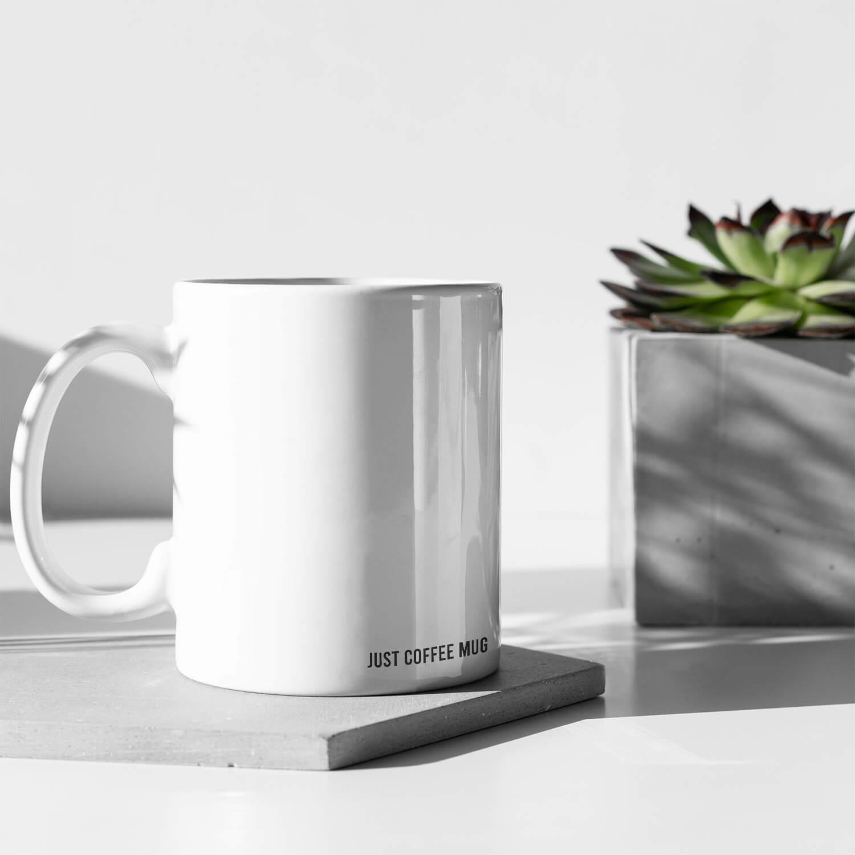 Just Coffee Mug Kupa3