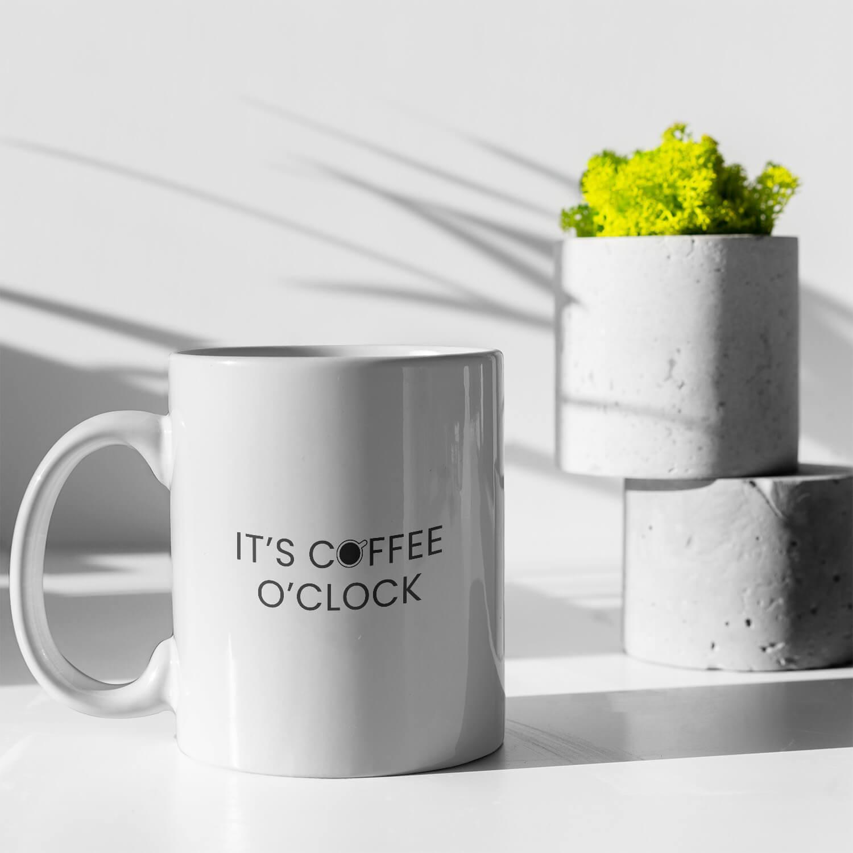 It's Coffee O'Clock Kupa2