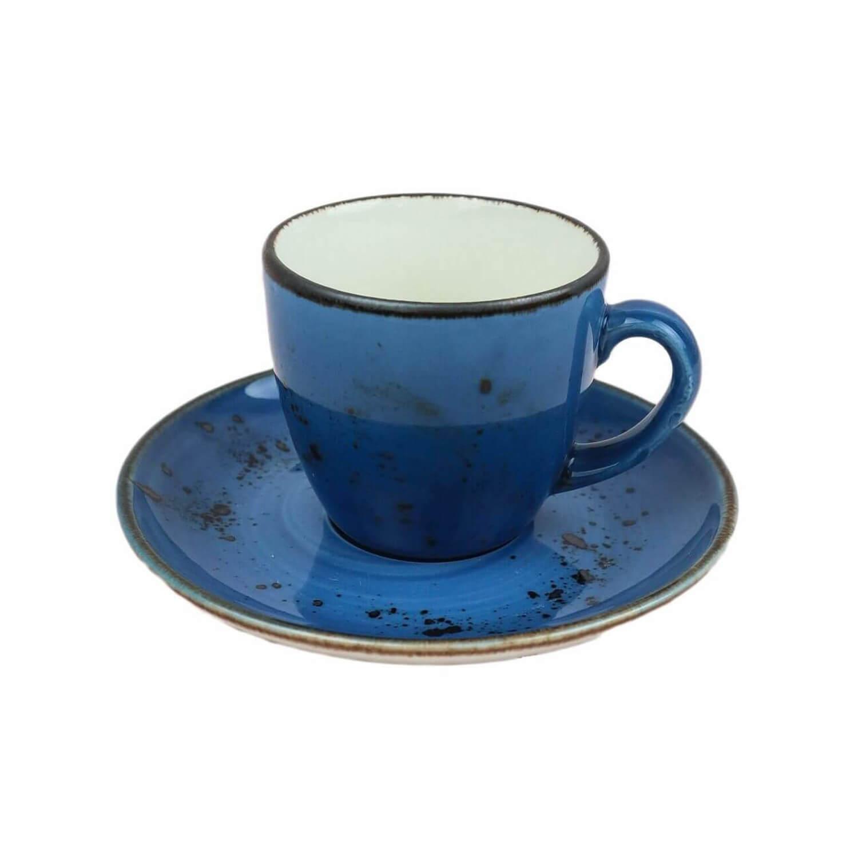 Mavi Porselen Fincan Takımı
