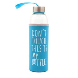 Dont Touch This Is My Bottle - Mavi