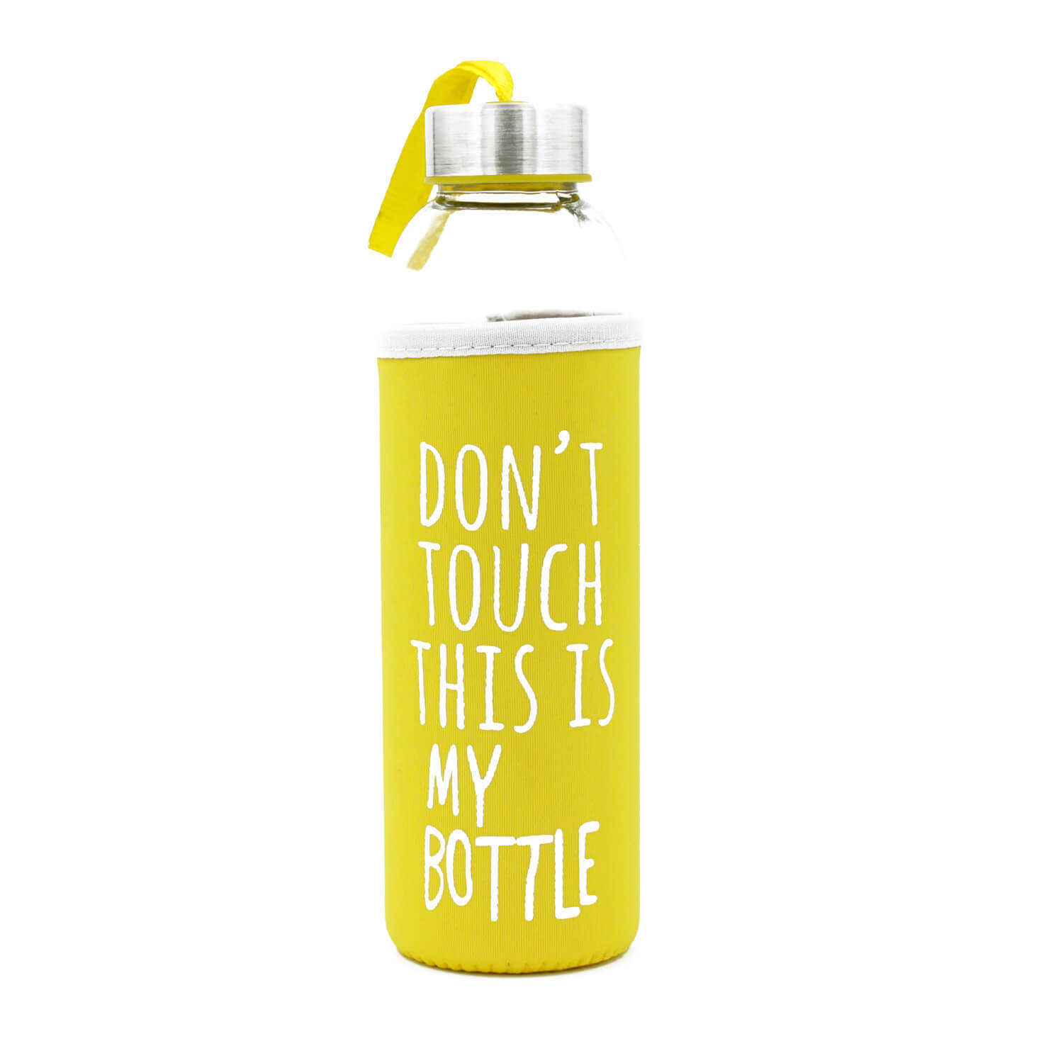 Dont Touch This Is My Bottle - Sarı