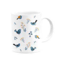 Kuş Figürlü Kupa