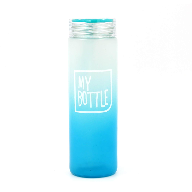 My Bottle Buzlu Cam Matara - Turkuaz