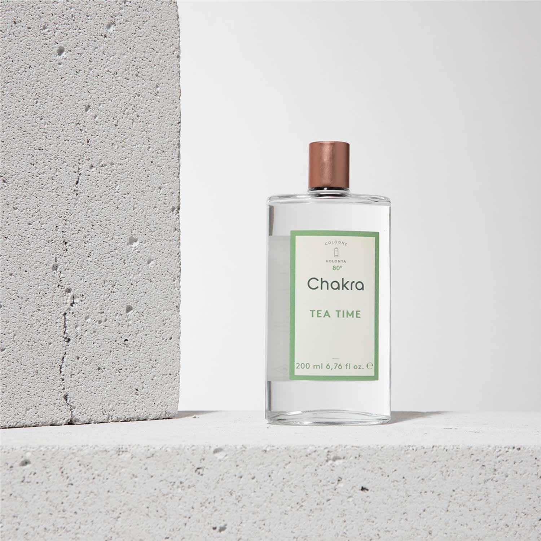 Chakra Kolonya Tea Time - 200 ml