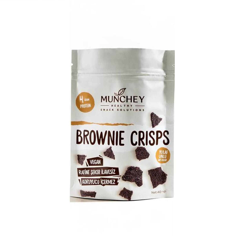 Munchey Brownie Crisps