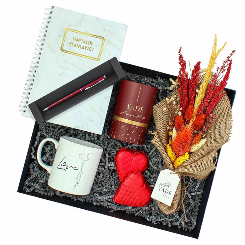 Planlı Sevgiliye Hediye Kutusu-3