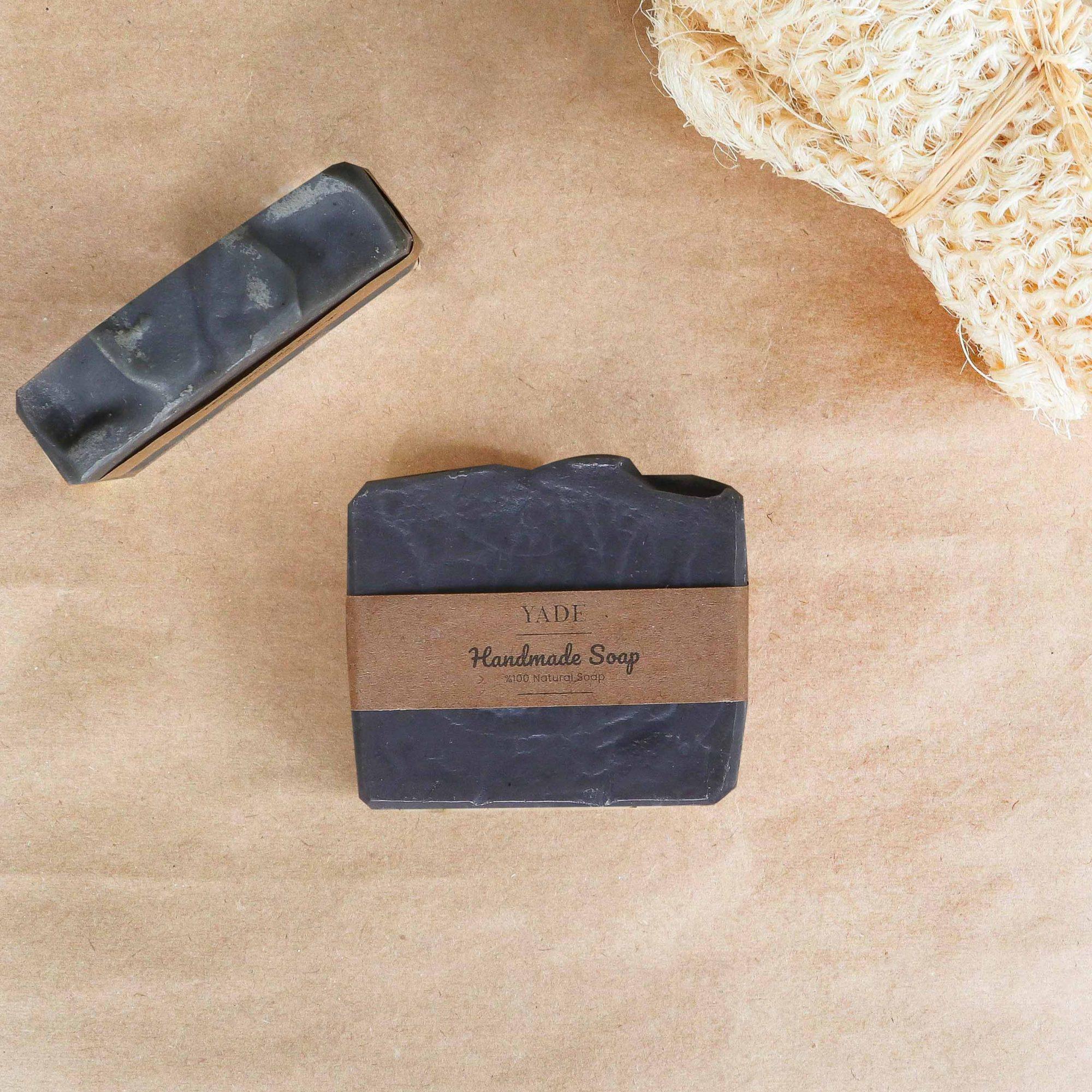 Yade Aktif Karbon & Mentol El Yapımı Sabun