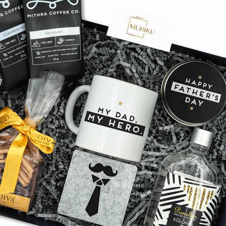 Kahve Sever Babaya Hediye Kutusu-detay
