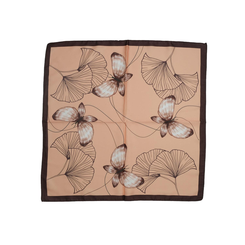Kelebek Figürlü Tasarım Fular-2