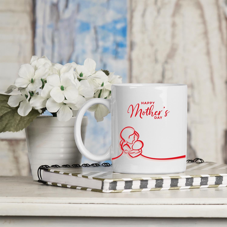 kırmızı happy mothers day