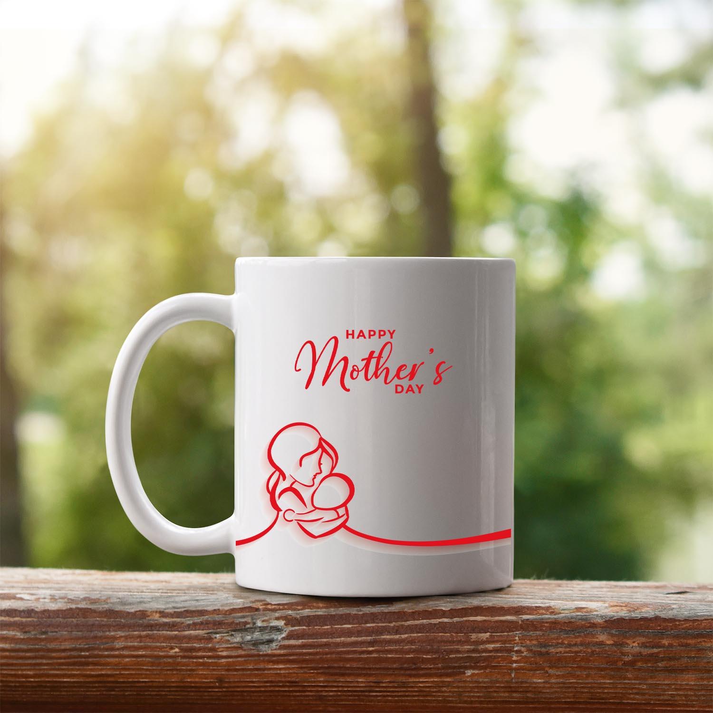 kırmızı happy mothers day2